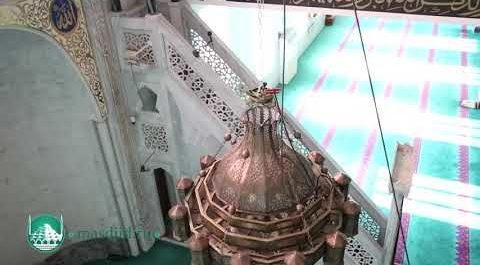 Изменения в передней части мечети (ВИДЕО)